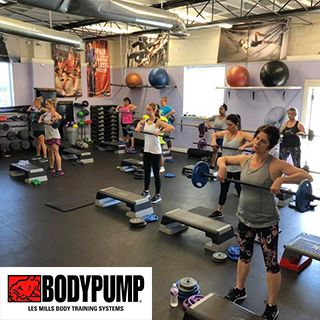 BodyPump Les Mills Body Training Systems at Tate's Total Training