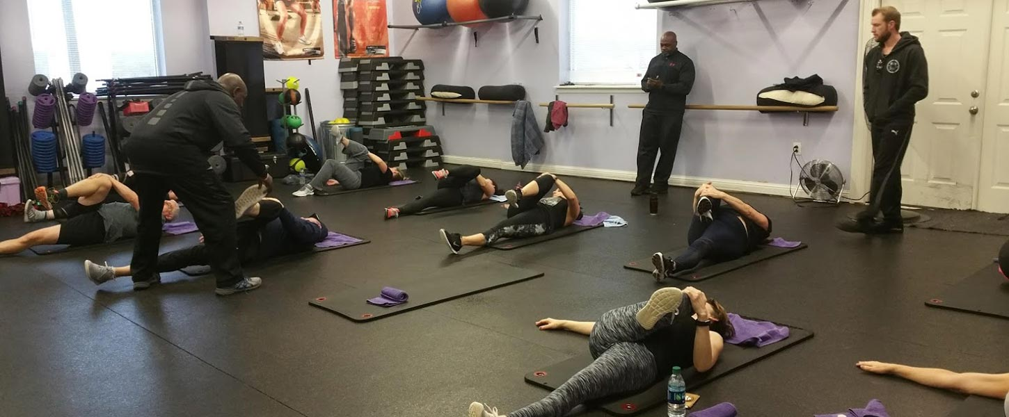 Small Group Personal Training at Tate's Total Training